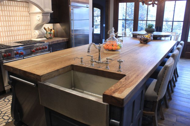 Distressed Hickory San Diego - The Countertop Company